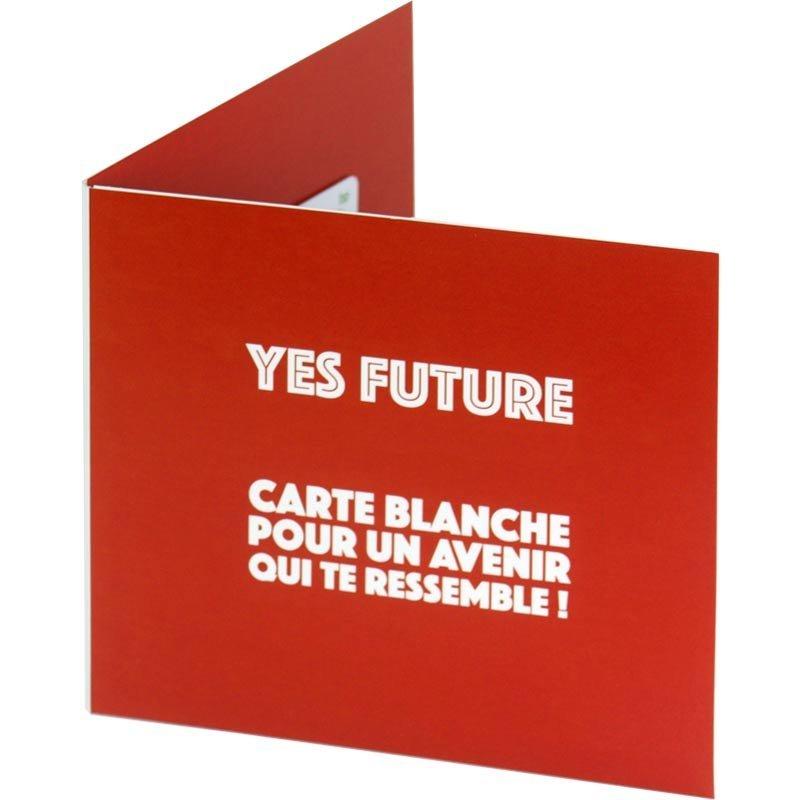 Pochette Pour Carte Cadeau Packaging Personnalisé Avec