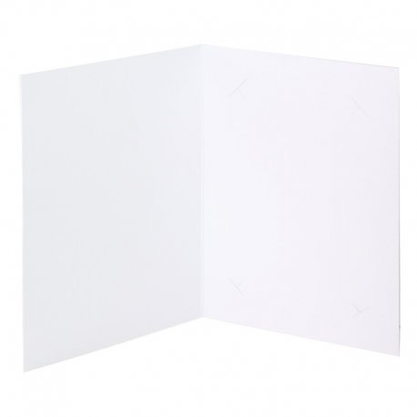 Cartonnage photo 10x15 carton extra blanc