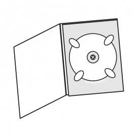 Digipack DVD 2 volets 1 plateau