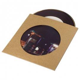 Pochette CD carton kraft avec fenêtre