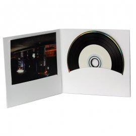 Pochette CD digifile vierge carton Blanc
