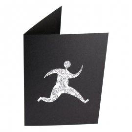 Pochette photo 15x21 15x23 personnalisée sur carton noir