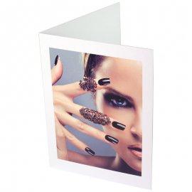 Pochette carton avec impression pour photo 10x15