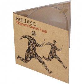 Digipack CD carton kraft impression aplat noir