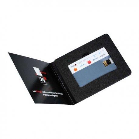 Packaging carton imprimé pour clé USB