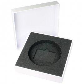Boite cloche personnalisée avec calage mousse
