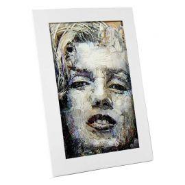 Cadre photo 10x15 carton blanc