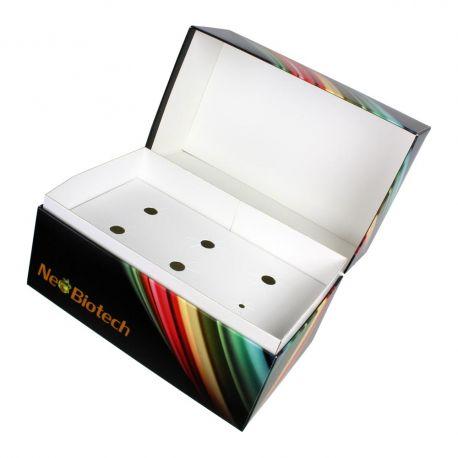 Packaging coffret carton avec calage multiple