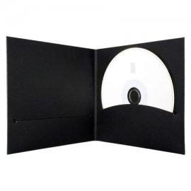 Pochette CD digifile vierge carton Noir