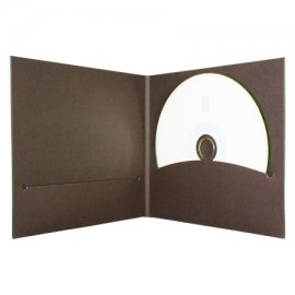 Pochette CD digifile carton brun