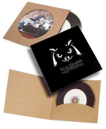 Pochette CD vierge ou avec impression personnalisée sur carton kraft