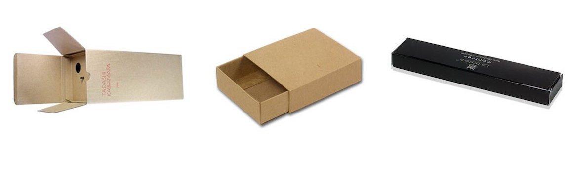 Réalisation packaging avec une matière spécifique en carton Kraft