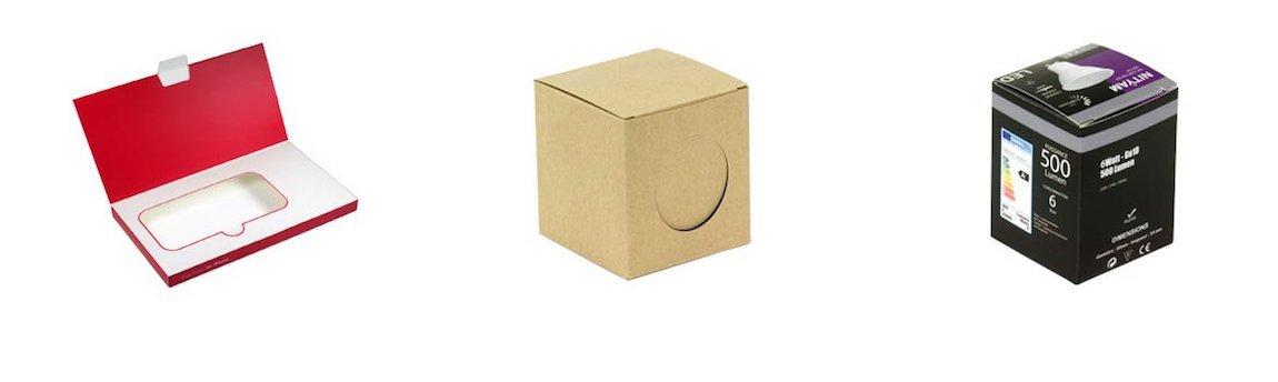 Packaging original avec développement sur mesure